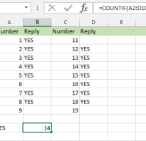 Excel cell text